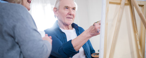 Exploring Art Therapy Benefits for Aging Individuals