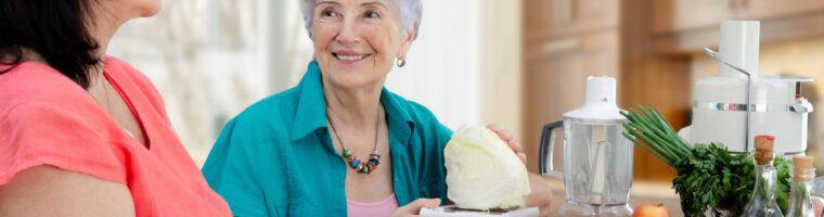 Senior Home Care Services – Meal Preparation